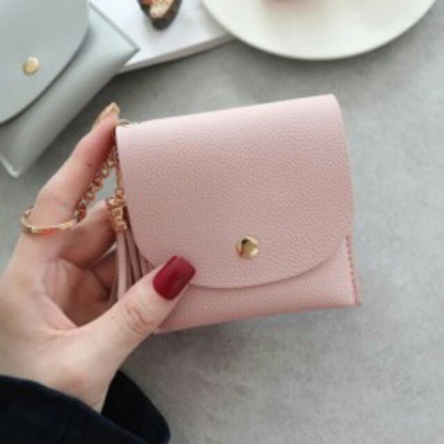 Mini Tassle Short Wallet