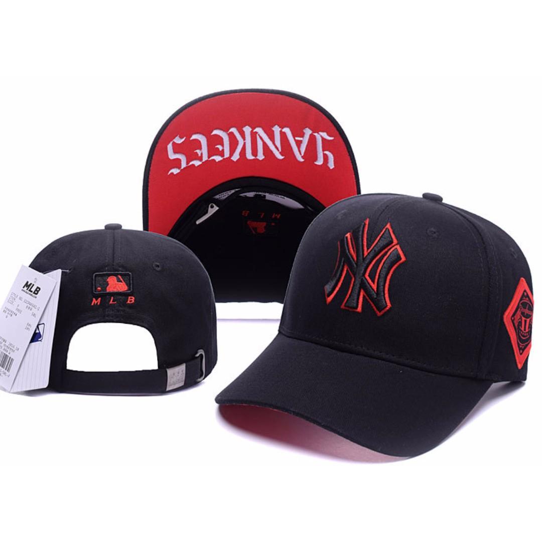 e666bfd903c MLB Korea Version New York NY Yankees Unisex Baseball Cap with ...