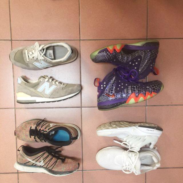 NB996美國麂皮Nike 魚骨鞋 巴克利籃球鞋 彩虹編織鞋