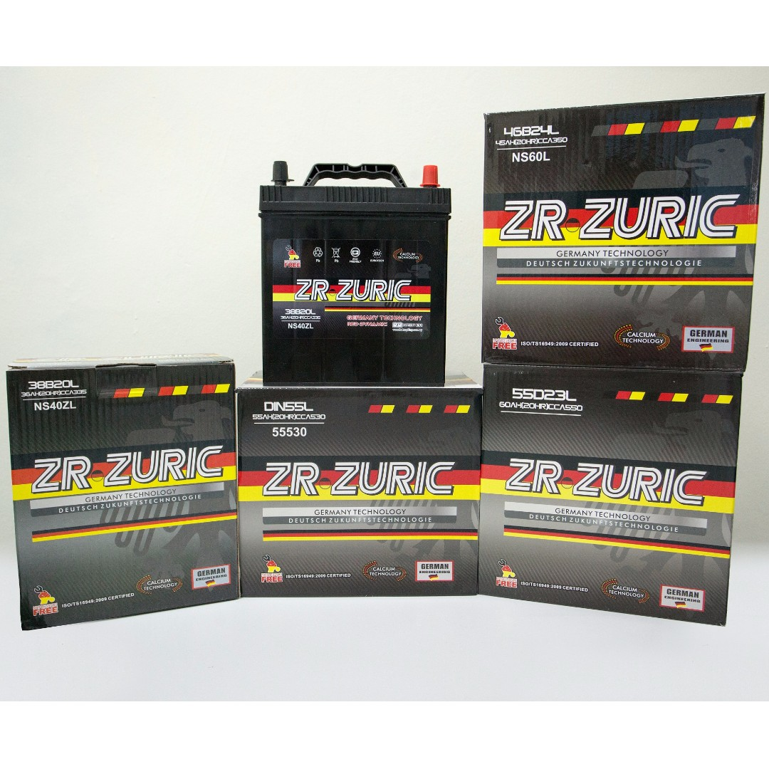 New Car Battery With Installation Car Accessories On Carousell