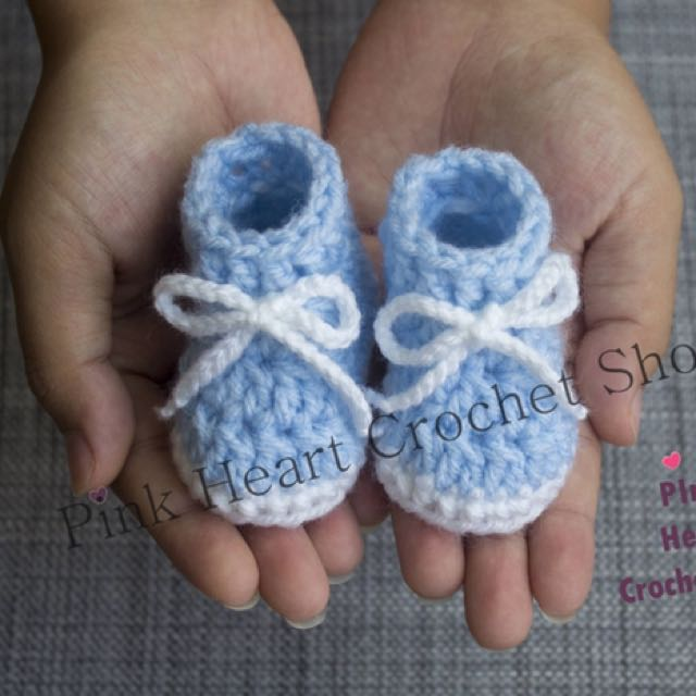 New Handmade Preemie Baby Boots