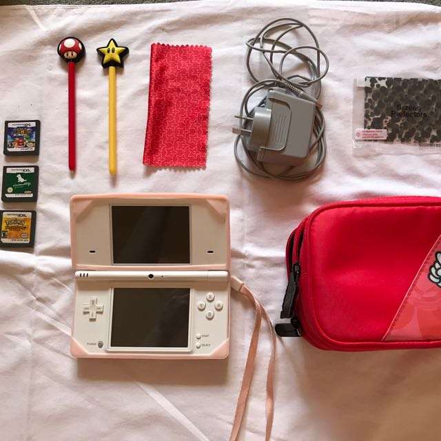 Nintendo DS Lite - WHITE (+ Games)