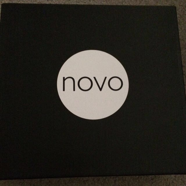 Novo Black and White Heels