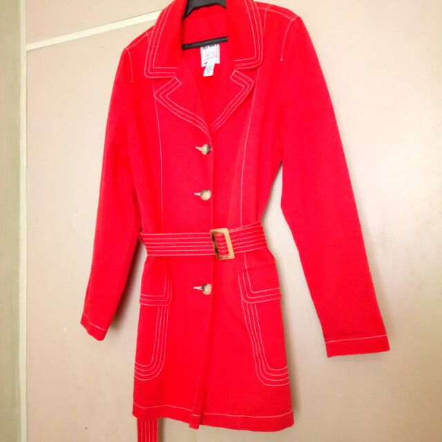OLD NAVY Red Coat