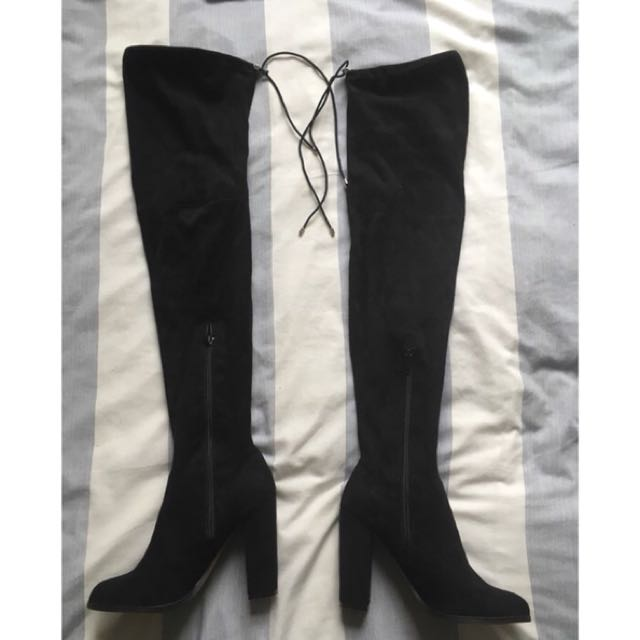 Over the knee boots never worn
