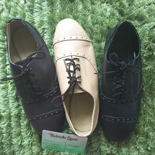 Oxford Close Shoes