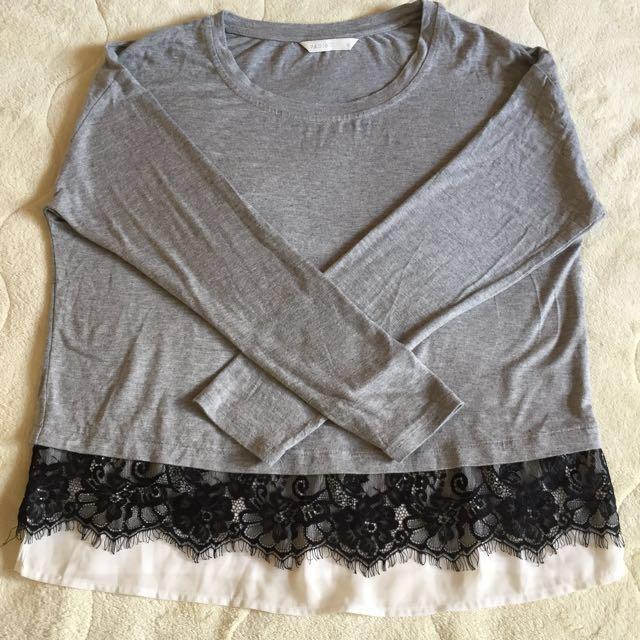 Padini Cotton jersey top size M