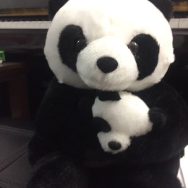 Panda Bear with Cub !!🐼