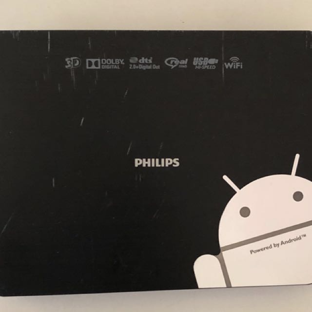 Philips Home Media Player smart tv box powered by android
