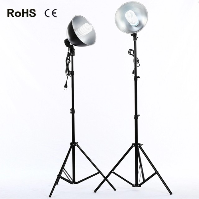 Photography Bulb New Photo Studio Photography Video Continuous Sparkler Dome aluminum alloy lamp cover Light