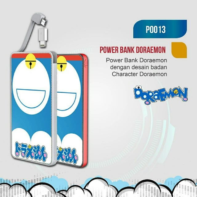 Powerbank custom desain sukasuka