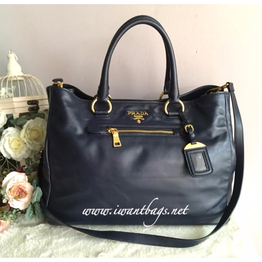 1630df4b34b104 ... canada prada bn2103 soft calf leather tote baltico womens fashion bags  wallets on carousell 7be3a a4b47