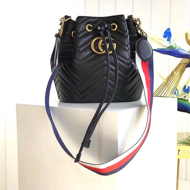 63b29db3fb4 PREORDER - GG Marmont Bucket Inspired Bag with logo