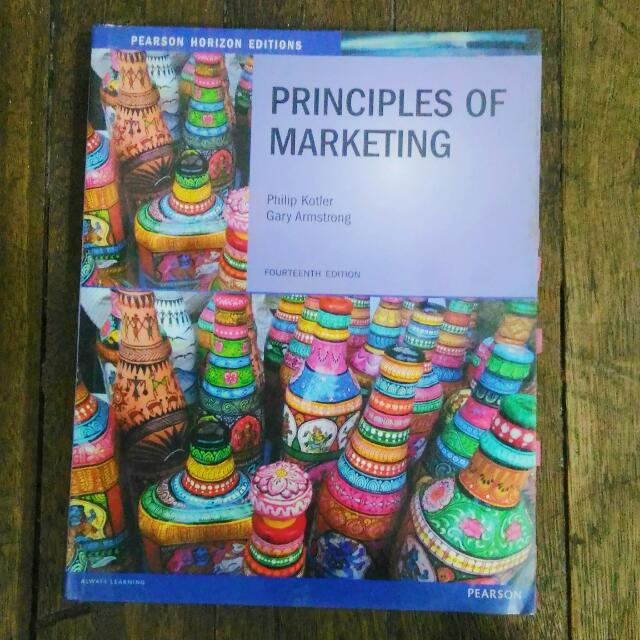 PRINCIPLES OF MARKETING FOURTEENTH EDITION by KOTLER & ARMSTRONG.