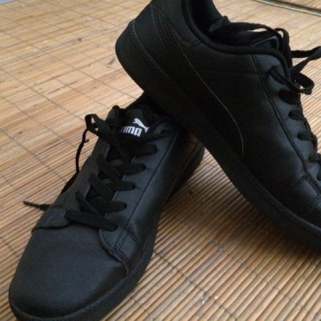 a7534e55a8c2 Puma Black Suede Copy (Replica)