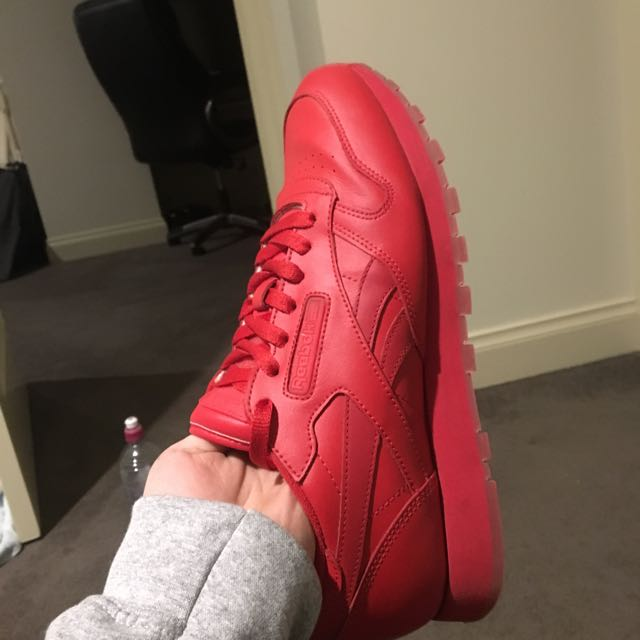 Reebok Classic Leather In Red