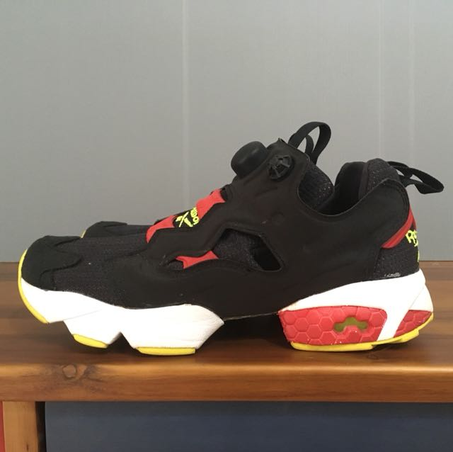 Reebok pump fury 米奇