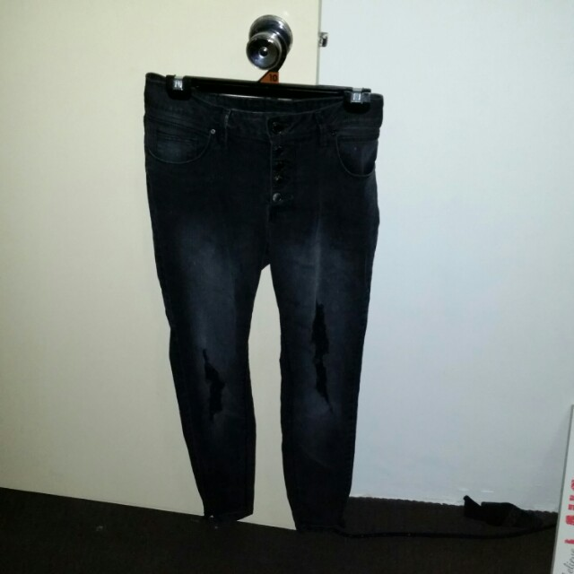 Ripped Jeans - Size 12
