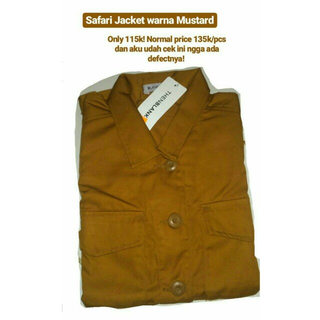 Safari Jacket Thenblank / Blankawear
