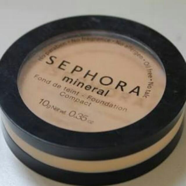 Sephora Mineral Powder Foundation