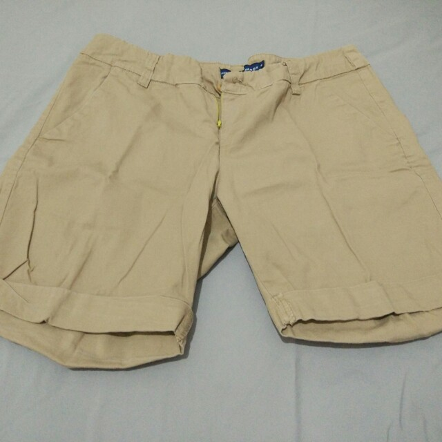 Short jeans polo