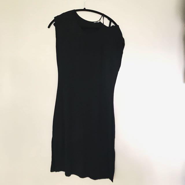 Simons Asymmetrical Dress