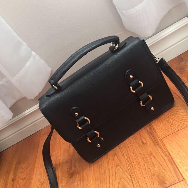 Small Black Vintage Bag