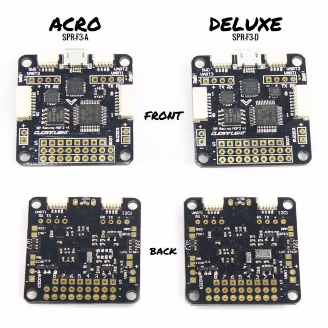 SP Racing F3 Flight Controller, DELUXE with Additional