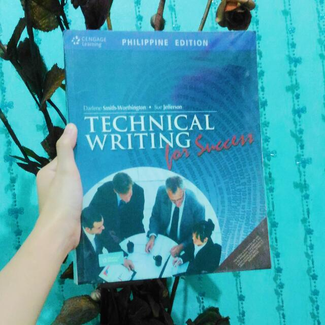 TECHNICAL WRITING FOR SUCCESS by SMITH-WORTHINGTON & JEFFERSON.