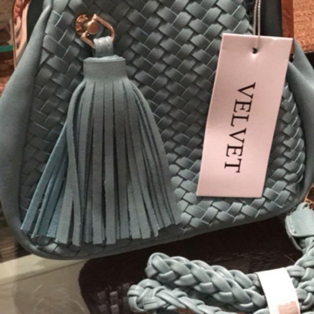 Tiffany Blue Sling Bag