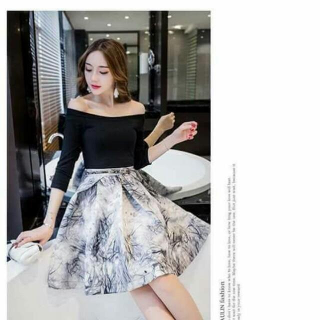 🐊Top and skirt terno