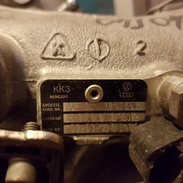 KO3 STOCK GTI MKV TURBO