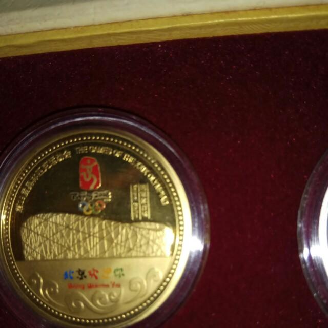 Twin Commemorative medallion