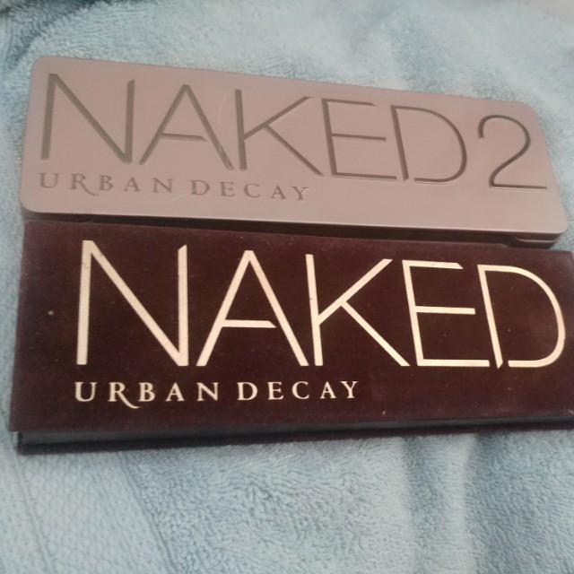 UD Naked Eyeshadow palettes 1&2