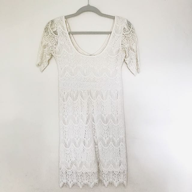 Urban Outfitters Crotchet Lace Dress