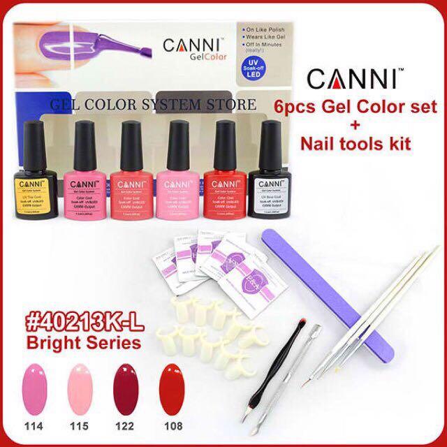 UV Gel Polish Set with tools
