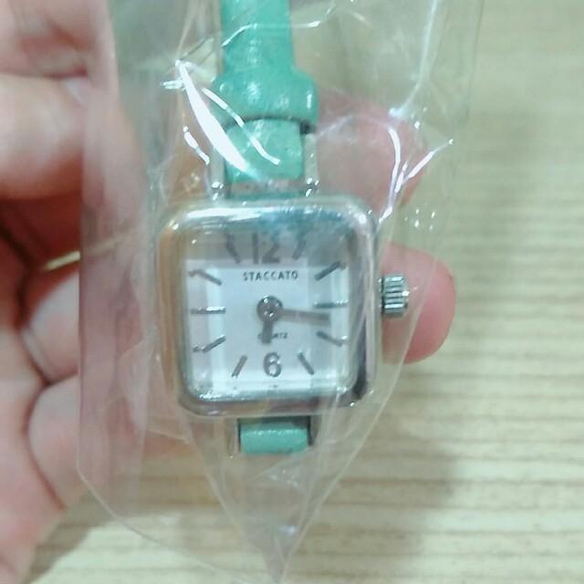 正韓 小方型手錶 韓國帶回
