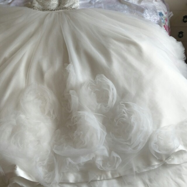 Wedding Dress (princess size 6-8)
