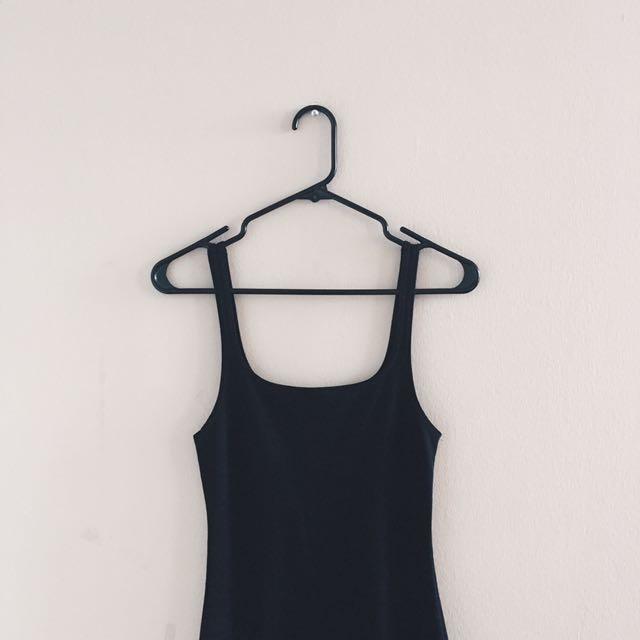 ZARA BLACK BODYCON DRESS