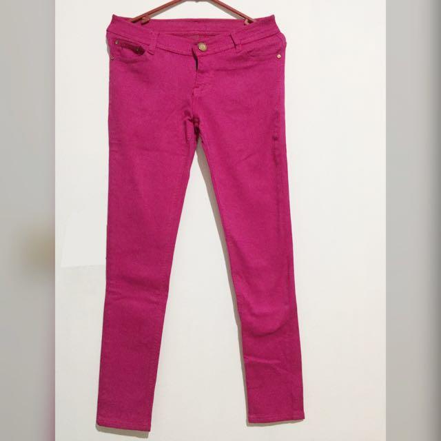 Zara Woman Jeans Pink