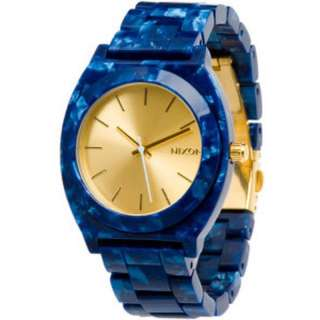 NIXON - Time Teller Blue Acetate with Gold Dial