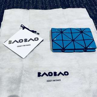 BAOBAO Card Holder - Bright Blue 電光藍