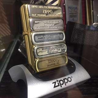 ZIPPO Bottom Stamp 超罕有限量日版打火機 (No. 855/1000)