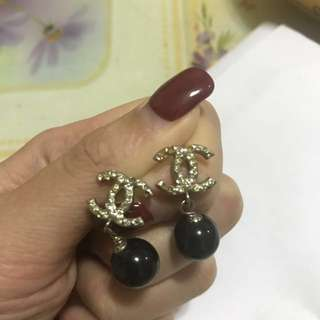Chanel 耳環 ear ring 100% real