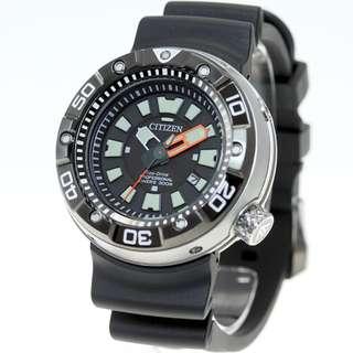 CITIZEN 星辰 Eco-Drive 光動能 BN0176-08E PROMASTER Marine series PROFESSIONAL DIVERS 300M BN017608E