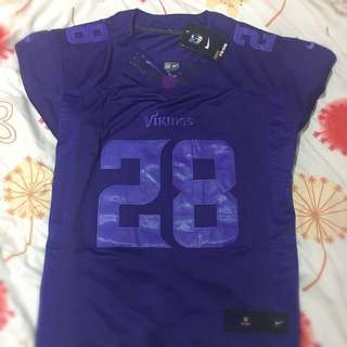 Brand New Nike NFL Jersey Vikings Peterson