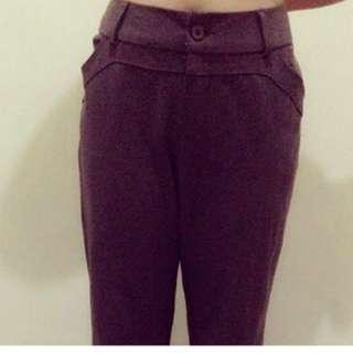 Samlin Ladies Gray Slacks. Size L on tag.
