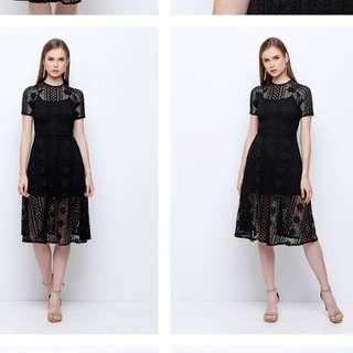 Chochochips boutique ferrera dress in black