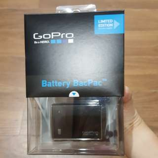 GoPro Battery BacPac ORI Limited Edition