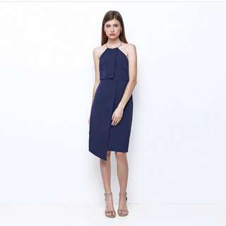 Chocochips boutique Milkha dress in Navy
